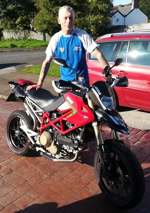Transporting a Ducati Hypermotard