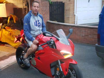 Steve's Ducati V4 Panigale
